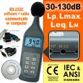 cia011-airforce-sl-5868p-sound-level-meter-with-rs-232c-software-cd-and-cable-lp-leq-lmax-ln