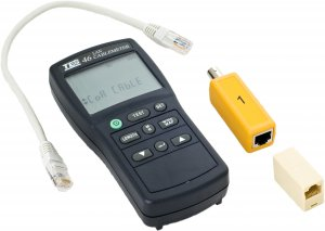 tes0073-46-cat-5-lan-cable-tester-with-distance-to-fault-300m